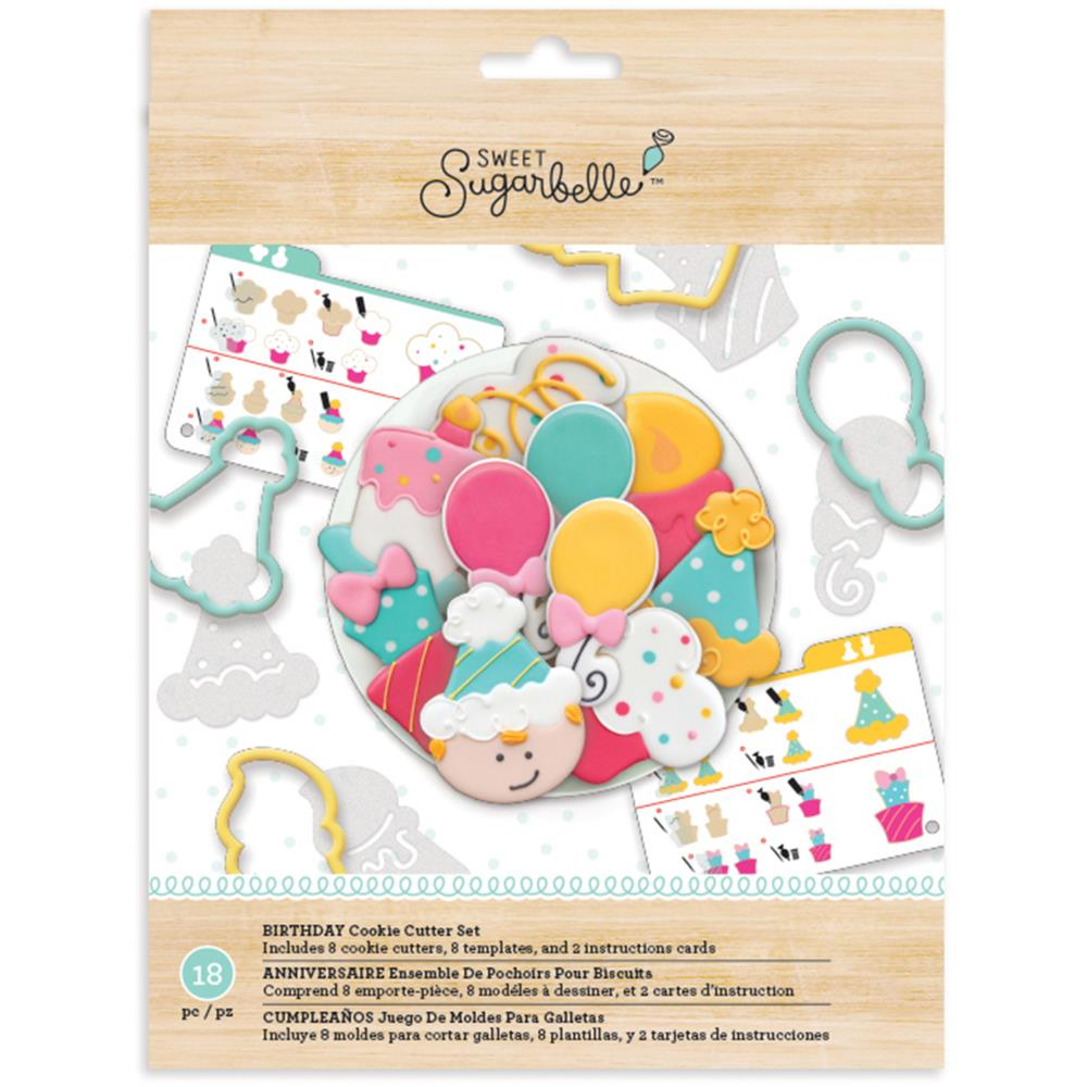 American Crafts Sugarbelle Birthday Cookie Cutter Kit