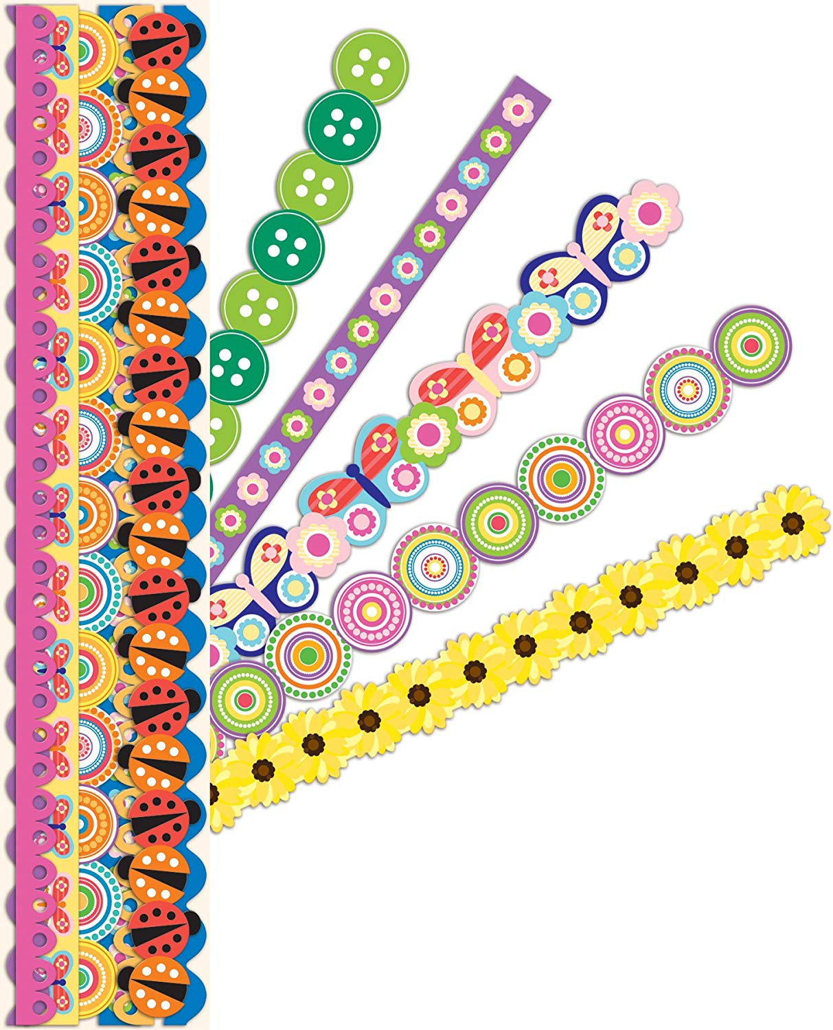 American Craft K&Company Summer Bright Adhesive Borders
