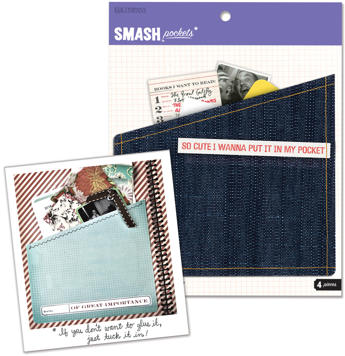 American Crafts Smash Pockets Folder