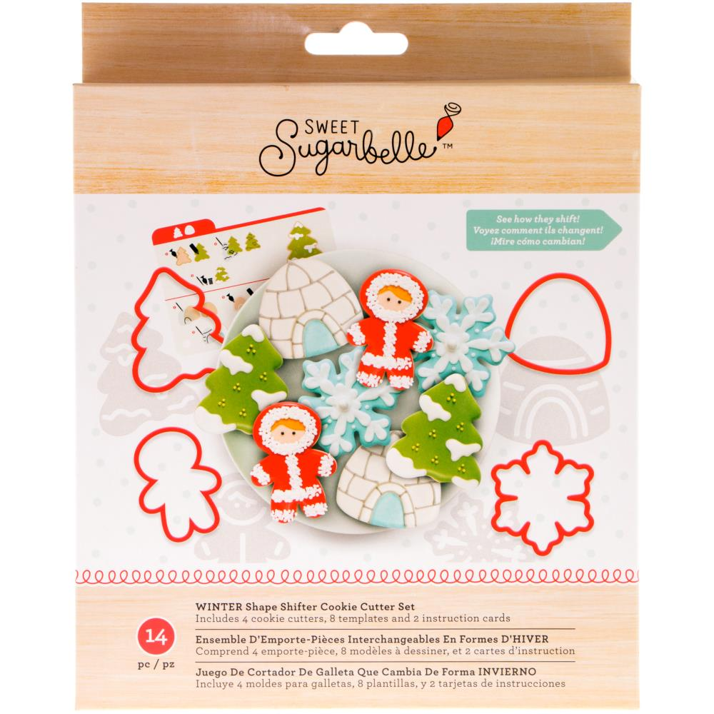 American Crafts Sweet Sugarbelle Winter Cookie Cutter Set