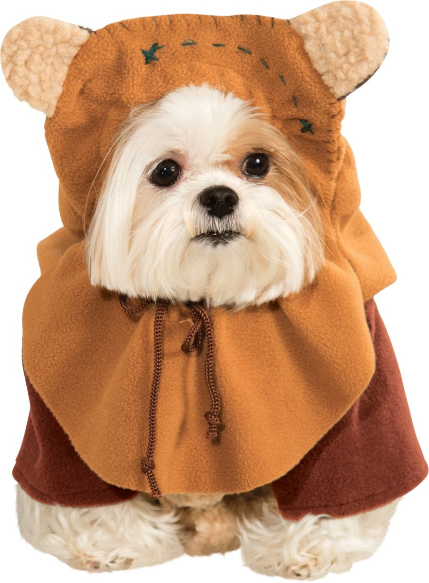 Rubies Star Wars Pet Classic Ewok Costume Small