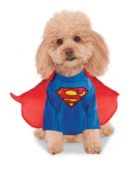 Rubies Classic with Arms Pet Superman Costume Small
