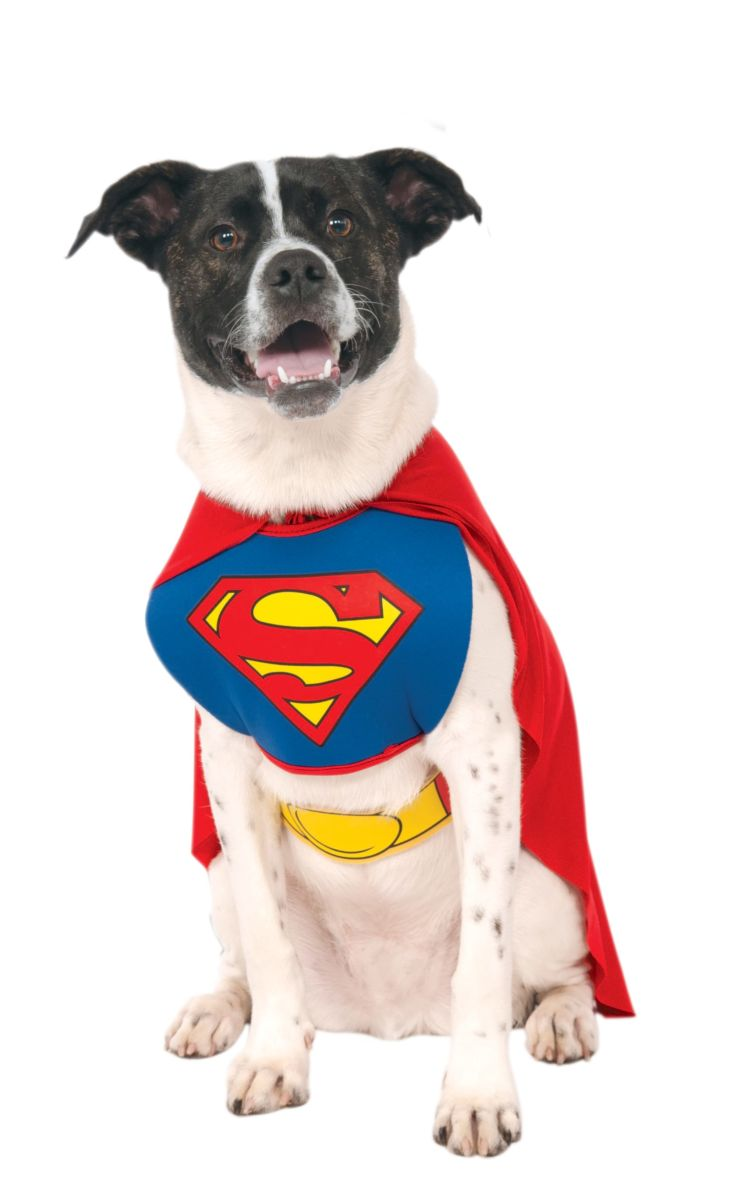 Rubies Classic Without Arms Pet Superman Costume Meduim