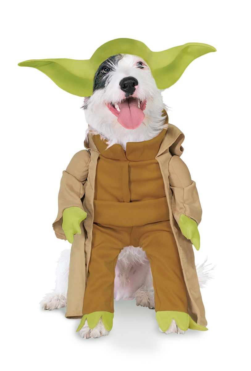 Rubies Star War Classic Pet Yoda Costume Meduim