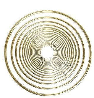 Pepperell Brass Ring 12 Inches