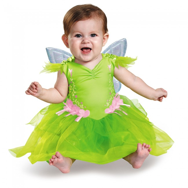 Disguise Baby Girls Tinker Bell Deluxe Infant Costume (12-18Months)