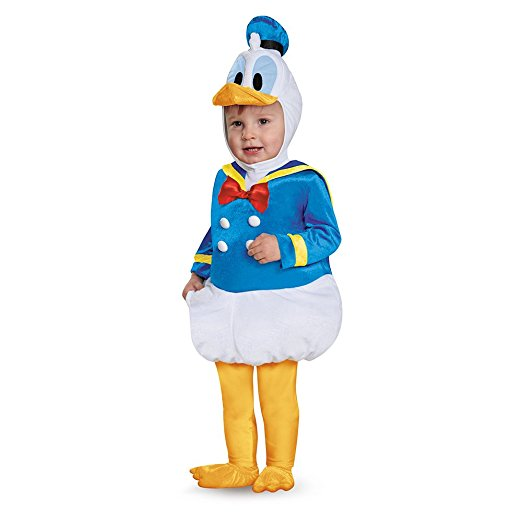 Disguise Donald Duck Prestige Infant Costume Blue 6-12 Months