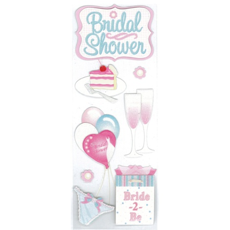 Darice Jolees Boutique Stickers Bridal Shower