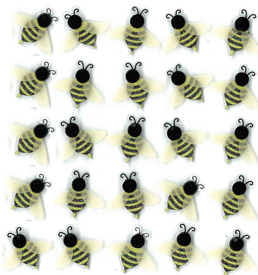 Darice Jolees Boutique Repeat Stickers Bees