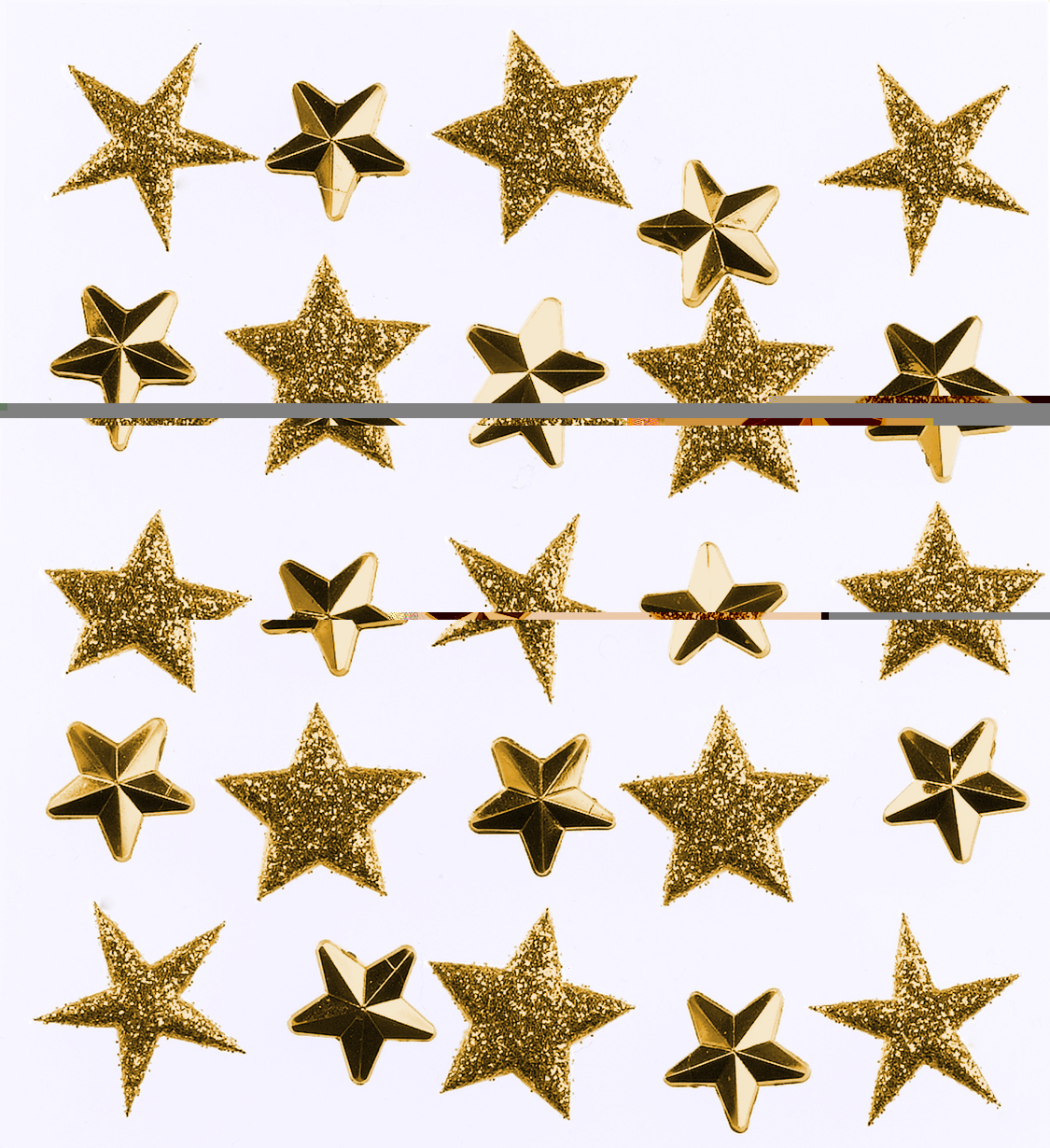 Darice Jolees Boutique Repeat Stickers Gold Stars