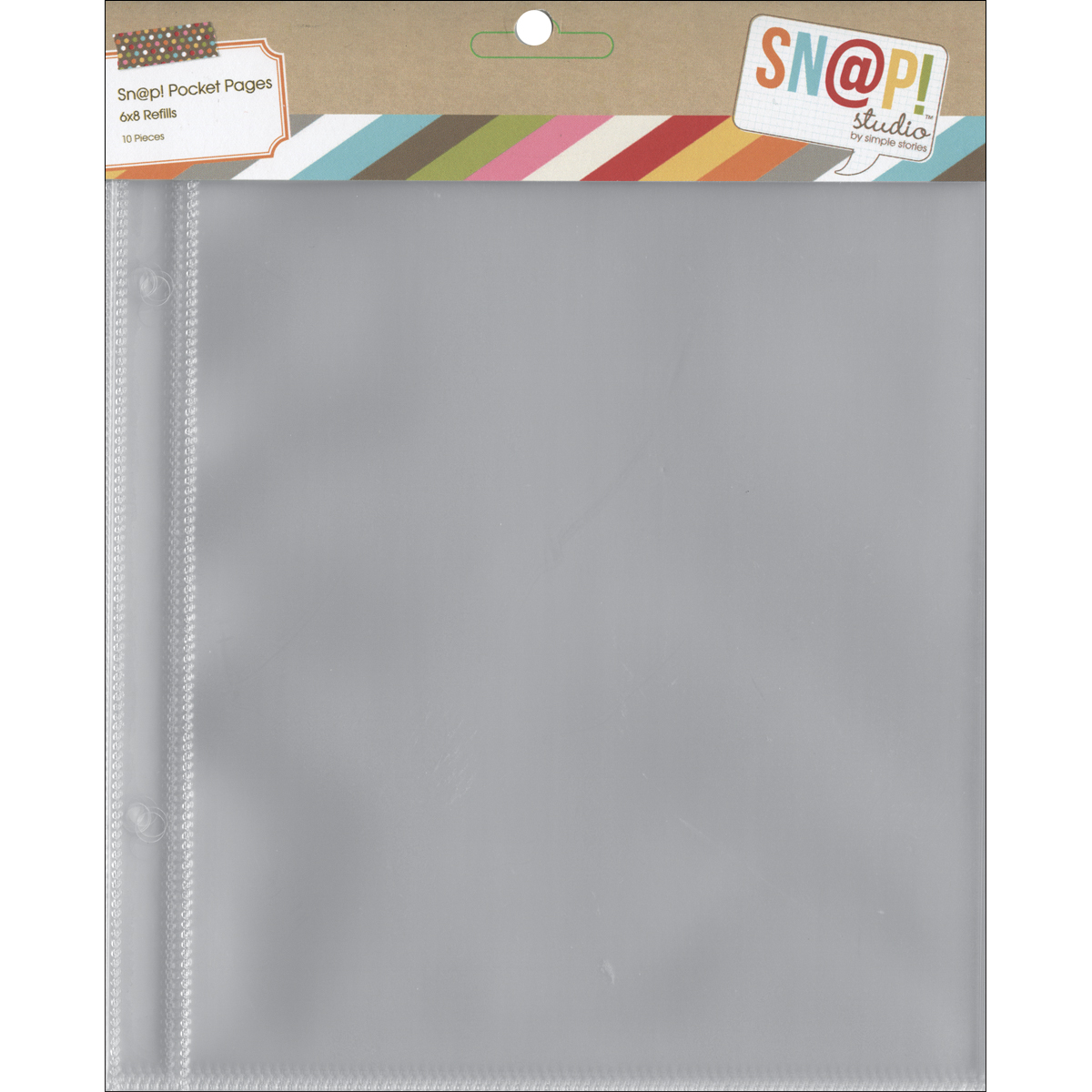 Simple Stories SNAP Studio Collection 6 X 8 Page Protectors
