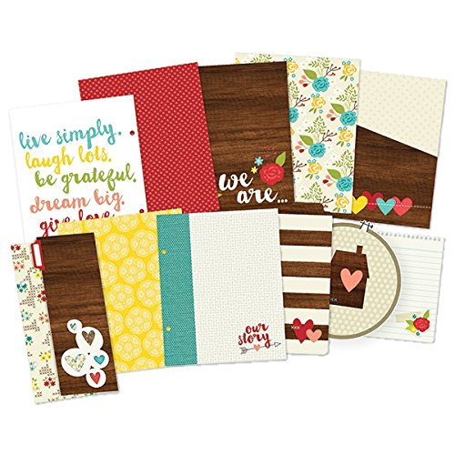 Simple Stories SNAP Collection 6 X 8 Journal Insert Pages We Are Family