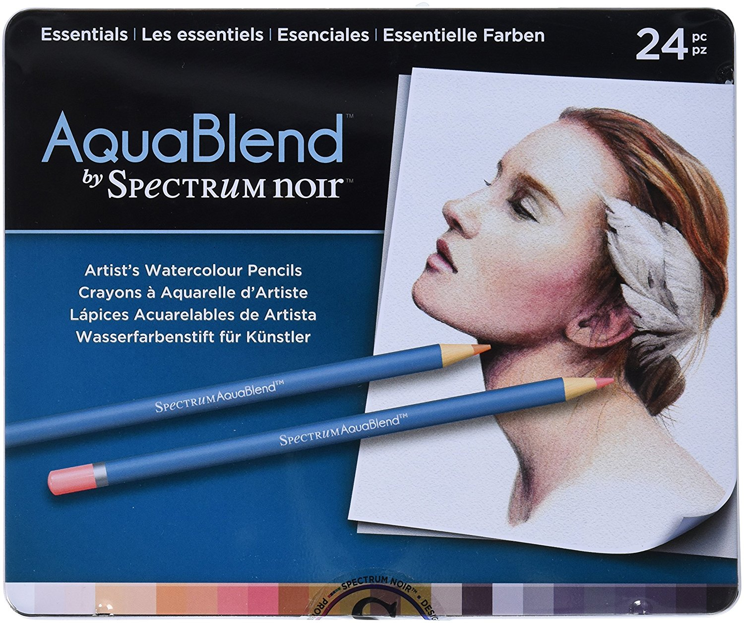 Crafters Companion Essentials Spectrum Noir AquaBlend Pencils